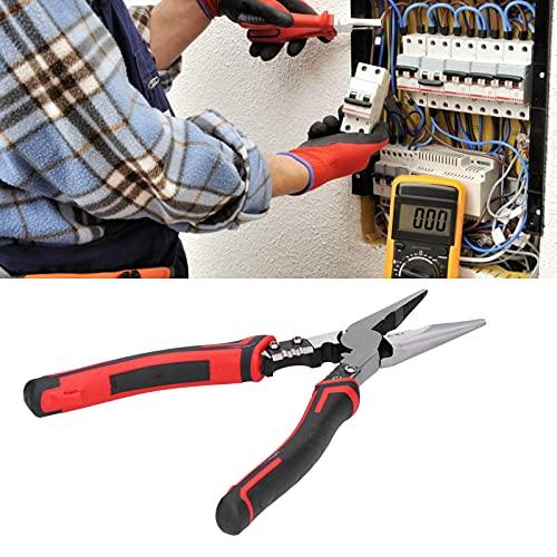 Cortador de alambre, alicates de corte diagonal Alicates de corte Práctico para alambre de hierro para mantenimiento industrial para mantenimiento de electrodomésticos para alambre de acero(210 mm)