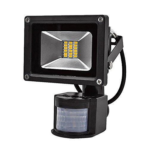 Greenmigo 20W 30W 50W 80W SMD Fluter mit Bewegungsmelder LED Strahler Warmweiß warmweiss Licht IP65 Wasserdicht LED Lampe Wandleuchter Flulicht Flutbeleuchtung LED Gartenlampe Außenstahler