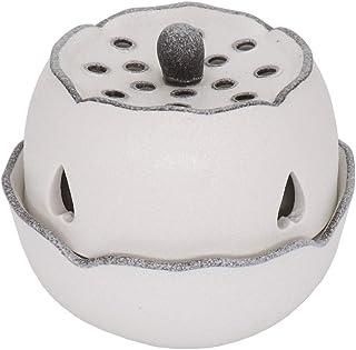 時限セラミック電気香バーナー、調整可能な温度エッセンシャルオイルフレグランスディフューザー、多くの材料に適した樹脂寒天木材アロマ炉、家庭/オフィスの香りのウォーマー、適切なf