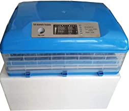 Zgrbq Egg Incubator auto Rotate Automatic Turning Hatching Used for Chickens, Ducks, Geese, Birds, Crickets, etc.(106 Eggs),106