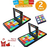 Longma Magic Block Game Parent-Child Activity Race Board Game Double Speed Desk Top 3D Cube Puzzle Blocks Game