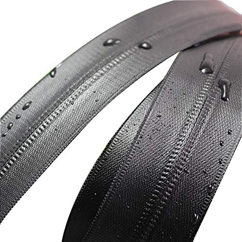 TREW PVC waterdicht onzichtbare ritsen for kleding waterdicht naaien van kleding rits tent rits for zak zip naaien ritssluiting (Color : Waterproof zipper, Size : 1 yards)