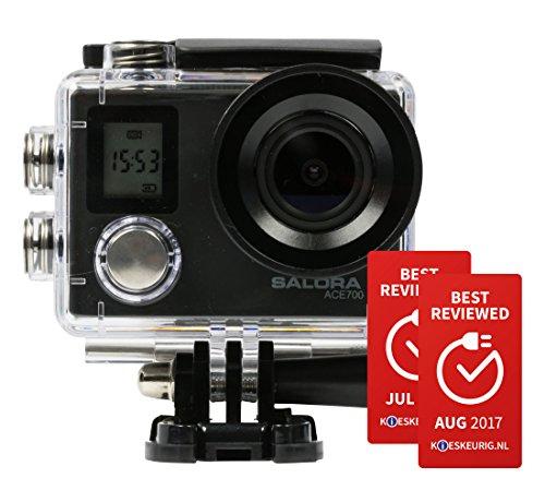 Salora ACE700 Action Camera 4K Ultra HD CMOS 12 MP WLAN 44 g