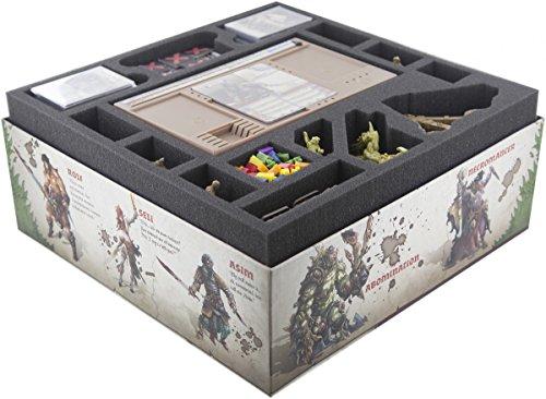 Feldherr Foam Tray Set Compatible with Zombicide: Green Horde core Box