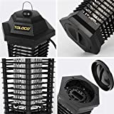 TOLOCO Bug Zapper Mosquito Killer, Fly Trap Outdoor Patio, Mosquito Attractant Trap for Outdoor, Insect Zapper with...