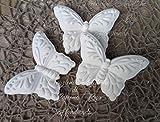 10 pezzi Gessetti profumati farfalle 6,5x5 cm