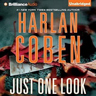 Just One Look audiobook cover art