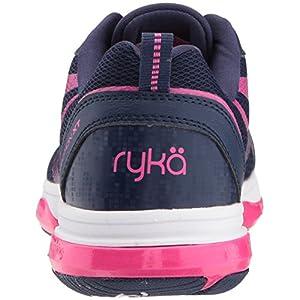 Ryka Women's Devotion XT Cross Trainer, Medieval Blue/Athena Pink/White, 9.5 M US