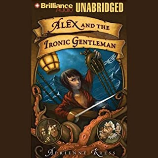 Alex and the Ironic Gentleman audiobook cover art