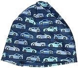 maximo Baby-Jungen Jerseymütze Mütze, Mehrfarbig (Blue Opal-Capri-Autos 76), (Herstellergröße: 49)