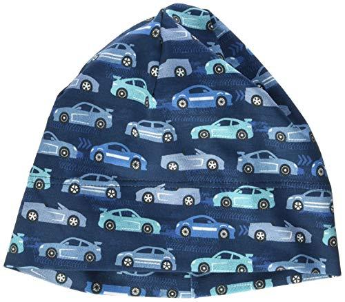 maximo Jungen Jerseymütze Mütze, Mehrfarbig (Blue Opal-Capri-Autos 76), (Herstellergröße: 55)