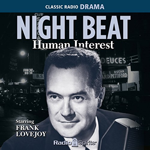 Night Beat: Human Interest audiobook cover art