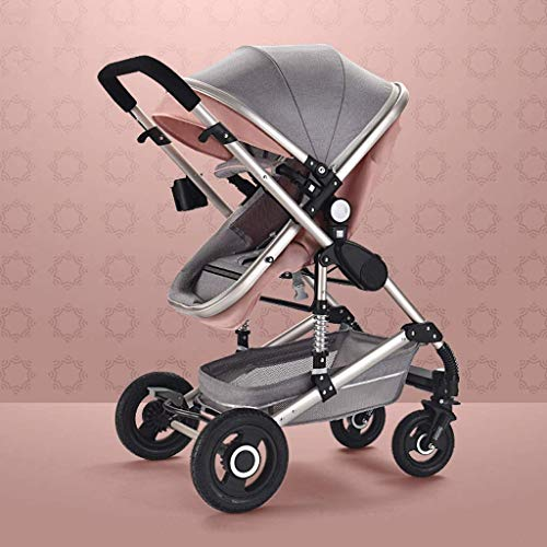 Great Features Of Travel System Lightweight Baby Carriage ,Stroller with Large Basket, Collapsible...