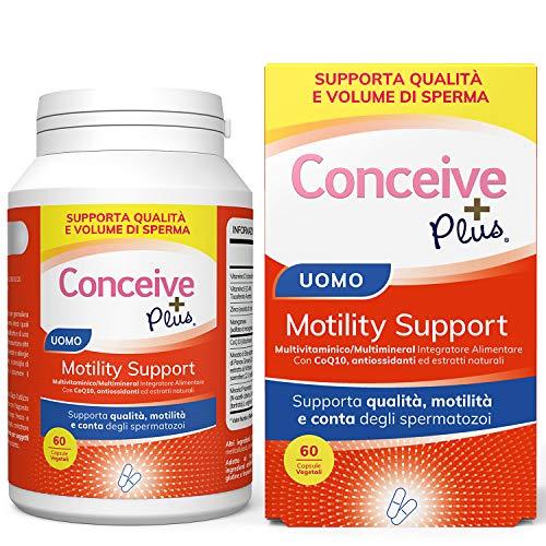 Conceive Plus Supporto per Motilità Maschile, supplementi di sostegno della fertilità,...