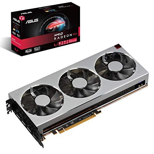 ASUS RadeonVII-16G Gaming Grafikkarte (AMD, 16GB HBM2 Speicher, 1GHz Speichertakt, HDMI, DisplayPort)