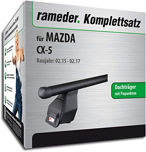Rameder Komplettsatz, Dachträger Tema für Mazda CX-5 (144974-10207-1)