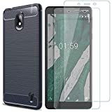 MYLBOO For Nokia 1 Plus Case With Screen Protector,[3 in 1]