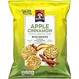 Quaker Popped Rice Crisp Snacks, Gluten Free, Apple Cinnamon, 7.04 Ounce