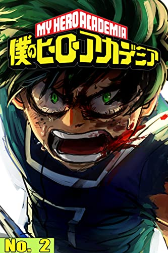 My Hero Action manga: My Hero Academia Manga No 2 (English Edition)