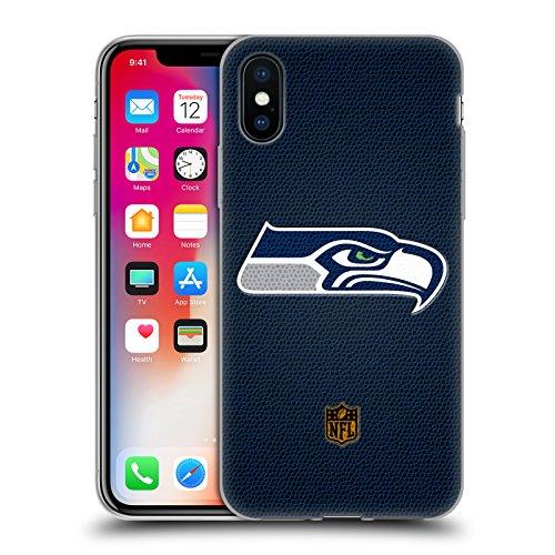 Head Case Designs Offizielle NFL Fussball Seattle Seahawks Logo Soft Gel Huelle kompatibel mit iPhone X/iPhone XS