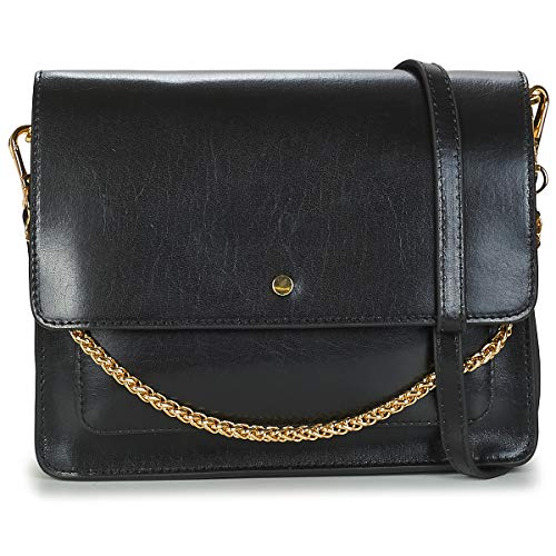 Petite Mendigote Charles Bisacce/Tracolle Donne Nero - One Size - Tracolle Bag