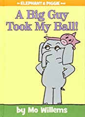 6 years & up. Two best friends and one BIG story. Someone huge has stolen Piggie's ball and will not give it back Is Gerald big enough to help his best friend? This story is packed full of the much loved, colorful, quirky illustrations of Mo Willems ...