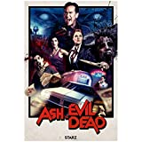 Mxibun Ash Vs The Evil Dead Temporada 2 Póster De Película Pinturas Lienzo Impresiones Arte De Pared Para Sala De Estar Dormitorio Decoración-20X30In Sin Marco