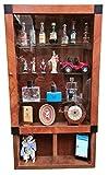 ARREDO SELLI Vitrina de madera cerezo estilo Mackintosh