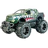 Ninco Ranger Monster Truck teledirigido Con luces. 2.4GHz negro. Medidas: 30 cm x 19 cm x 16 cm, color verde NH93120