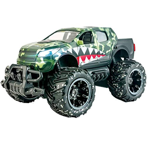 Ninco Ranger Monster Truck teledirigido Con luces. 2.4GHz negro. Medidas: 30 cm x 19 cm x...