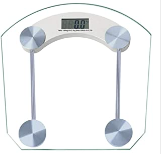 MS Smart Digital Weighing Scale Highly Accurate Bathroom Body Weighting Scale 180 KG Capacity (Square)