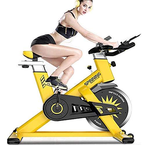 RJJBYY Bicicleta Estática para Interiores Bicicleta Giratoria Silenciosa para El Hogar Plegable, Pedal Interior para Correr Equipo De Pérdida De Peso