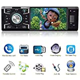 Indash Car Stereo with Bluetooth Single Din FM...