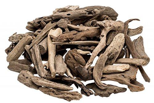 NaDeco Treibholz Natur 0,5kg Dekoholz Driftwood Schwemmholz Wood Maritime Dekoration Bastelholz maritme Dekoration Deko-Mix natürliche Dekoration