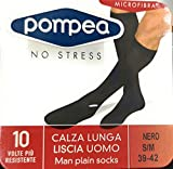 Zoom IMG-1 pompea calza lunga liscia uomo
