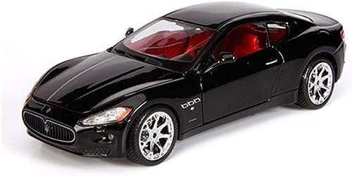 artículos novedosos JTWJ Maserati Modelo de Coche Coche Coche 1 24 Coche de aleación de simulación maseratiGT Modelo de Coche Deportivo (Color   negro)  Venta en línea de descuento de fábrica