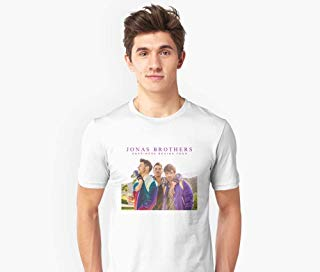 JONAS BROTHERS - THE HAPPINESS BEGINS TOUR 2019 Slim Fit T-Shirt