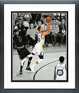 Stephen Curry Golden State Warriors 2017 Finals Spotlight Photo (Size: 12.5