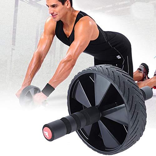 Rodillo abdominal para entrenamiento de abdominales Ab Roller Wheel equipo de ejercicio Ab Wheel