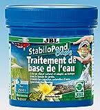 JBL Traitement de Base de l'Eau, Granulés pour Bassin 2 500 L, StabiloPond Basis, 250 g