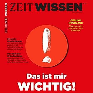 ZeitWissen, Juli / August 2018 Titelbild