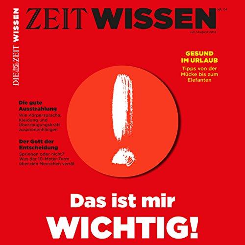 『ZeitWissen, Juli / August 2018』のカバーアート