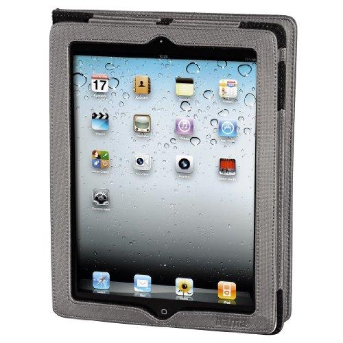 Hama Portfolio Arezzo Tasche für Apple iPad 2 Silber