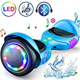 TOMOLOO Hoverboard with LED Light Two-Wheel Self Balancing Scooter with UL2272 Certified, 6.7' Wheel Electric Scooter