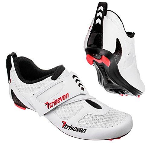 TriSeven Premium Triathlon Radschuhe (38)