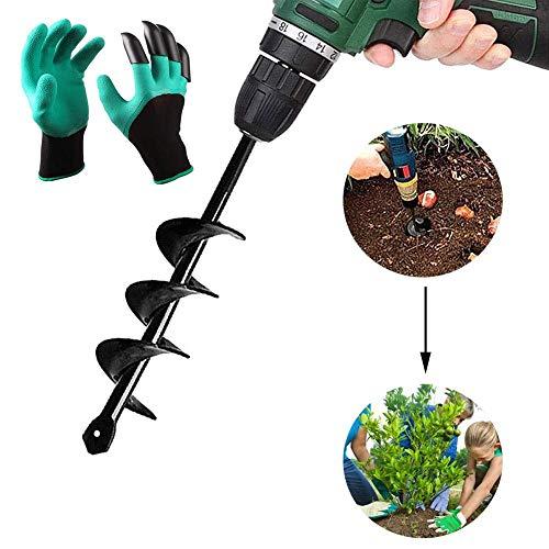 Broca para Plantar Suelo Taladro barrena de jardín