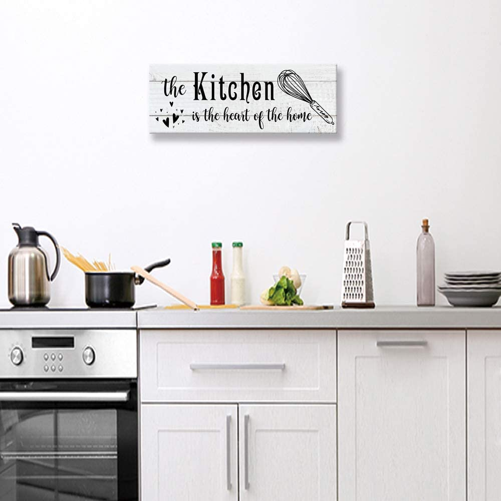 Elegant kitchen Wall Decora Sign, Funny Rustic Farmhouse Family Coffee Wall  Decoration Plaque, Home Kitchen,Pantry Decor Mural 9.9 X 9 inch, ...