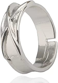 Dragon Ball Z Super Zamasu Goku silver Time Cosplay Fashion Ring