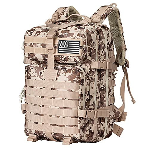 Himal Military Tactical Backpack - Large Army 3 Day Assault Pack Molle Bag Rucksack,40L (ACU)