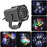OUTEYE Lámpara de proyector de Navidad LED, Luces de Escenario,...